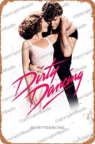 Cimily Dirty Dancing Poster Ⅱ Zinn Wand Zeichen Retro Kunst Eisen Malerei Metall Plakette 8 * 12 Zoll Wanddekoration Garten Poster Bar Café Schlafzimmer Hof