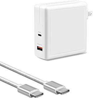 VHBW 78W USB-C 充電器, PD Type C 充電器対応Macbook,Lenovo, ASUS, Acer, Dell, Xiaomi Air, Huawei Matebook, HP Spectre, Thinkpadその他U...