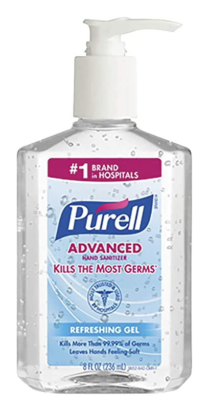 トランザクション二次スポンサーPURELL Instant Hand Sanitizer, 8-oz. Pump Bottle by Purell