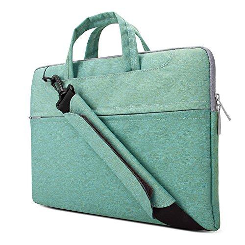 Lacdo 15.6 Inch Laptop Bag Sleeve Case for 15.6' Acer Predator Helios 300 / Acer Flagship, Aspire 5, E 15 / Dell Inspiron/Lenovo IdeaPad/HP Pavilion, OMEN/ASUS VivoBook, Chromebook, Green