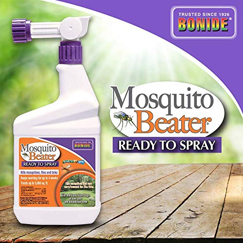 Bonide (BND680) - Ready to Spray Mosquito Beater, Mosquito, Gnat, and Fly Insecticide (1 qt.)