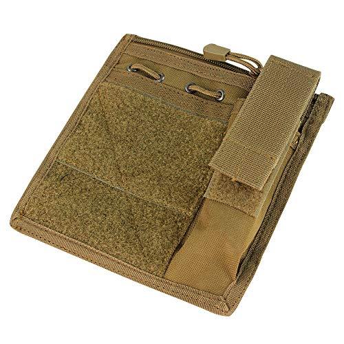 Condor MA30 Admin Pouch w  Flashlight pouch - Coyote Brown