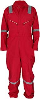 Red Jumpsuit Adult Work Costume