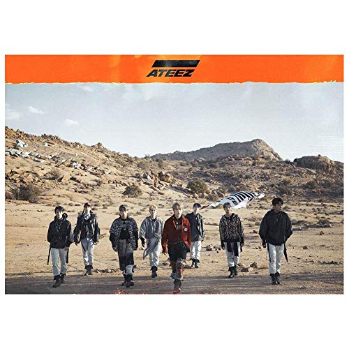 redCherry Kpop ATEEZ Album TREASURE EP.FIN: All To Action Doek Papier Poster Leuk cadeau voor fans