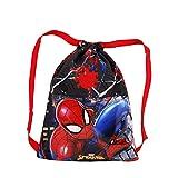 KARACTERMANIA Spider-Man Wall-Sac à Cordon 31 cm Multicolore