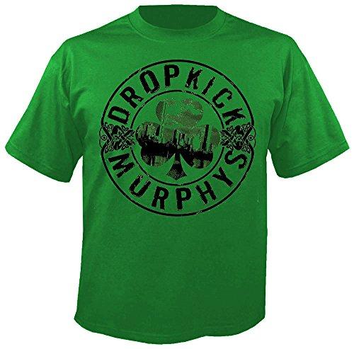 Dropkick Murphys - Boot - Green - T-Shirt Größe XL