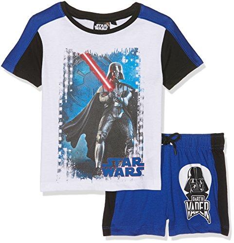 Star Wars Ropa Interior de Deporte, Azul (Blue Blue), 3-4 Años para Niños