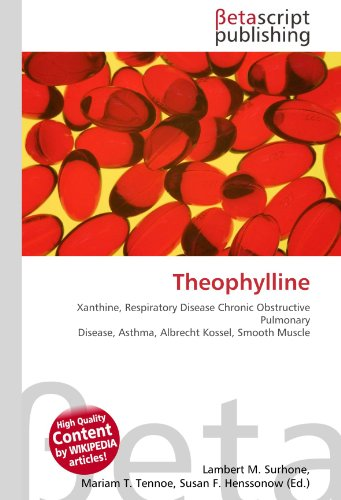 Theophylline: Xanthine, Respiratory Disease Chronic Obstructive Pulmonary Disease, Asthma, Albrecht Kossel, Smooth Muscle