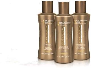 Brasil Cacau Shampoo Conditioner Smoothing Treatment 110ml Kit Pack Hair