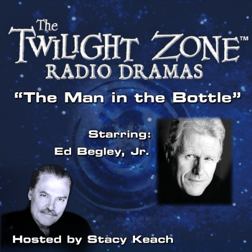 The Man in the Bottle audiobook cover art