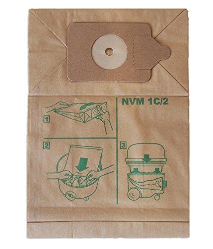 Numatic 604100 Staubsauger-Papier-Filterbeutel NVM-1C/2 2-lagig (1VE = 10 Stück)