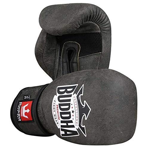 Buddha Sports GGUPPR_12 Handschuhe, Unisex, Erwachsene, Dunkelgrau, Unzen