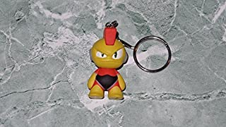 Kidrobot Mega Man Mini Series Bomb Man 1.5 Vinyl Figure Keychain 1/20 by Megaman