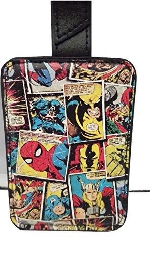 Marvel Comic Mania Gepäckanhänger mit Geschenkbox