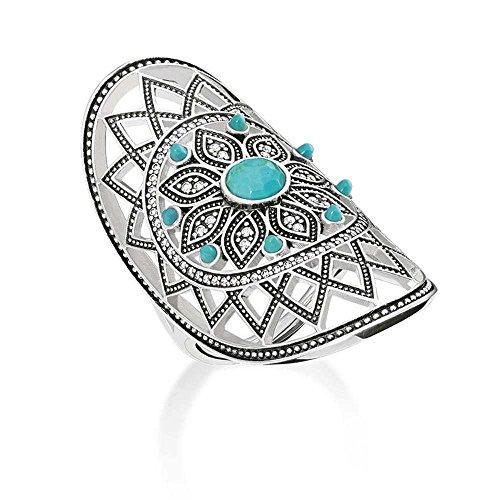 THOMAS SABO Ethno Dreamcatcher Ring tr2091–646–17–58(F 1/4)