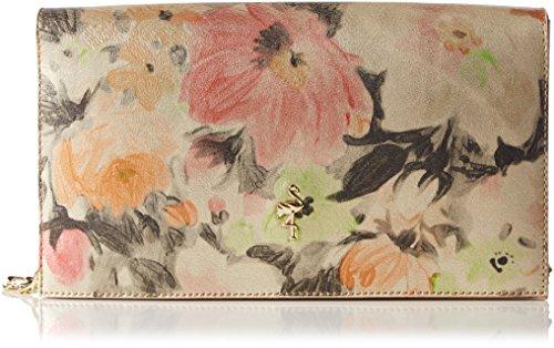 MENBUR MenburAucalypto - Pochette Donna, Multicolore (Mehrfarbig (Blumen Multi 12)), 28x17x5 cm (B x H x T)