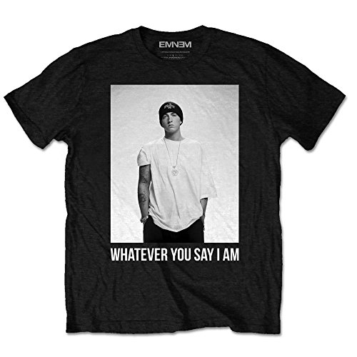 Eminem Whatever Slim Shady Marshall Mathers Oficial Camiseta para Hombre