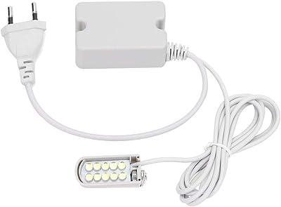 Domybest - Lámpara de máquina de coser LED superbrillante, base ...
