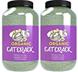 Cat Crack Organic Catnip, Premium Blend Safe for Cats, Infused with Maximum Potency Your Kitty is Sure to Go Crazy for (8 Cups)