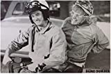 Lawrence Painting Dumb And Dumber Movie Harry And Lloyd On Scooter Poster Prints High Qualiot Ty Picture Nice Movie Style Custom Poster 50X75Cm