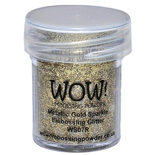 Wow Embossing Powder Wow Embossing-Puder, 15ml, Metallic Gold Sparkle