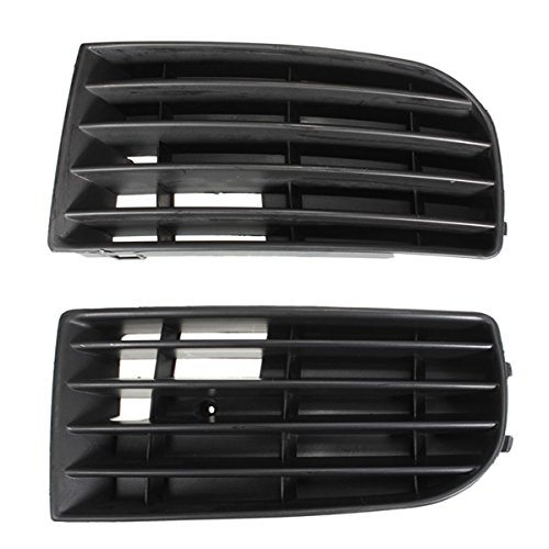 Auto Frontgrill Stossstange - SODIAL (R) 1 Paar Auto Frontgrill Stossstange Fuer Golf 5 2003-2009