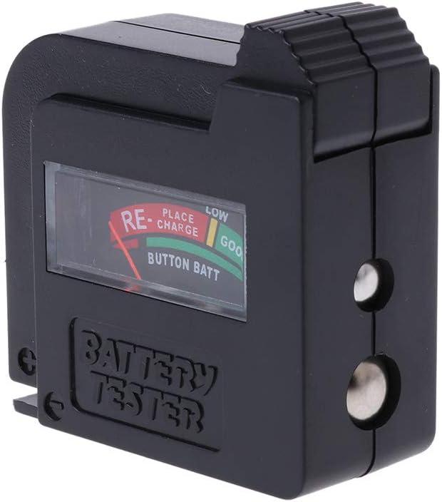 Wondiwe AAA/AA/C/D/1.5V/9V Universal Button Cell Battery Volt Tester Checker BT-860 New