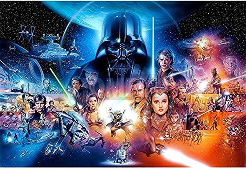 VGSD® Star Wars Jigsaws Puzzles 1000 Piezas, Rompecabezas para Adultos DIY Rompecabezas Educativo Juguete, Juegos Divertidos Gran Regalo Educativo para Niños Imagen