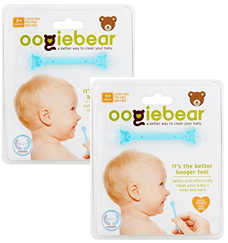 oogiebear ~ It's the Better Booger Tool for Babies (2 Packs)