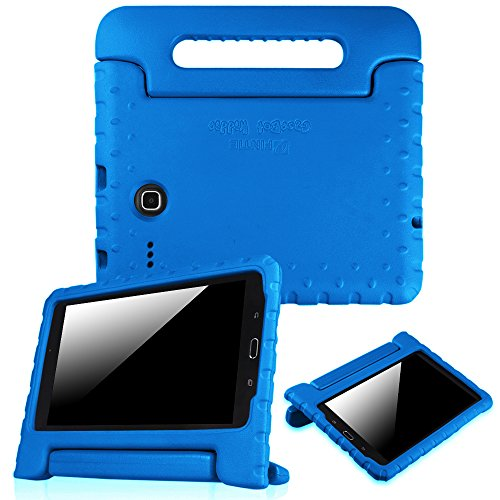 Fintie Case for Samsung Galaxy Tab E 8.0 - Light Weight Shock Proof Convertible Handle Stand Kids Friendly for Samsung Galaxy Tab E 32GB SM-T378 / Tab E 8.0-Inch SM-T375 / SM-T377 Tablet, Blue