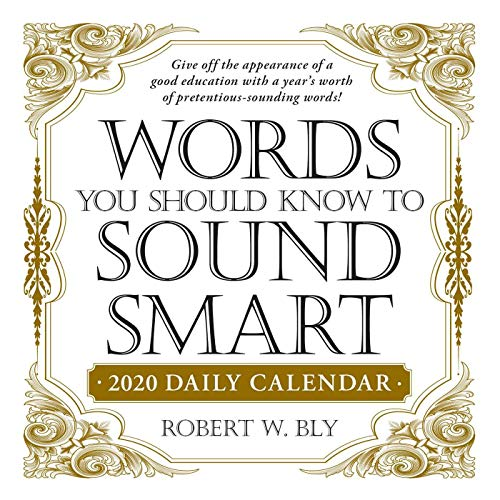 Words You Should Know to Sound Smart 2020 Daily Calendar (Daily Calendars 2020)