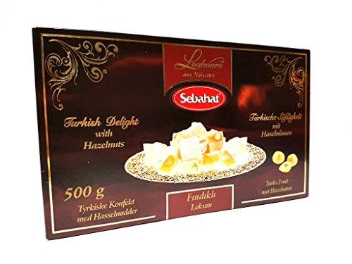 Sebahat - Türkischer Honig mit Hasselnüssen - Findikli lokum 500g