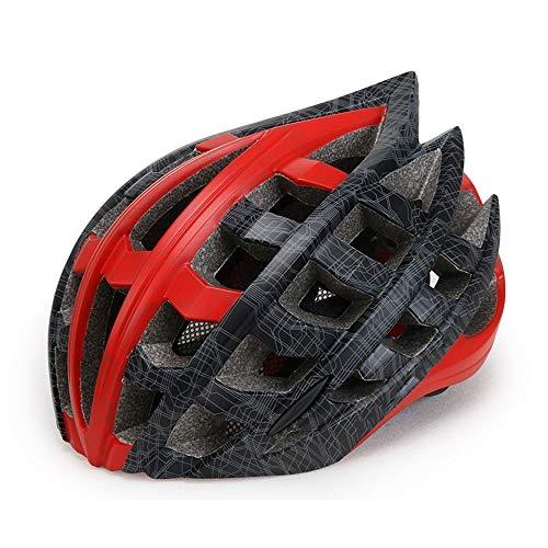 Casco Bici Da Corsa Uomo Specialized Adulti in bicicletta casco della bici Specialized for la protezione di sicurezza delle donne degli uomini CE certificato regolabile leggero casco da bicicletta for