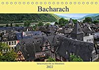 Bacharach - Sehenswerter Ort am Mittelrhein (Tischkalender 2022 DIN A5 quer): Kleiner historischer Ort am Mittelrhein (Monatskalender, 14 Seiten )
