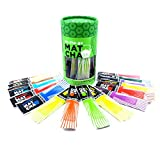Whistling Kettle Organic Matcha Green Tea Powder - Refreshing & Energizing Tea with Natural Flavors - Tea Variety Pack, 16 Sachets (48 grams)