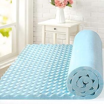 ZINUS 1.5 Inch Swirl Gel Cooling Memory Foam Mattress Topper / Cooling Airflow Design / CertiPUR-US Certified Full