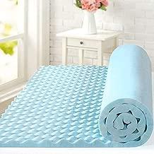 ZINUS 1.5 Inch Swirl Gel Cooling Memory Foam Mattress Topper / Cooling, Airflow Design / CertiPUR-US Certified, Queen
