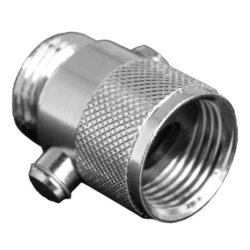 LASCO 08-2479 Water Saver Shut Off Shower Head with 1/2-Inch Female and Male Pipe Thread, Chrome Plated Brass