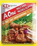 A-One [ 10x 85g ] Instant Nudelsuppe [ Schweinefleischgeschmack ] (Misc.)