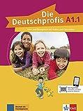 Die deutschprofis a1.1, libro del alumno y libro de ejercicios con audio y clips online: Kurs- und Ubungsbuch A1.1 + Audios und Clips o