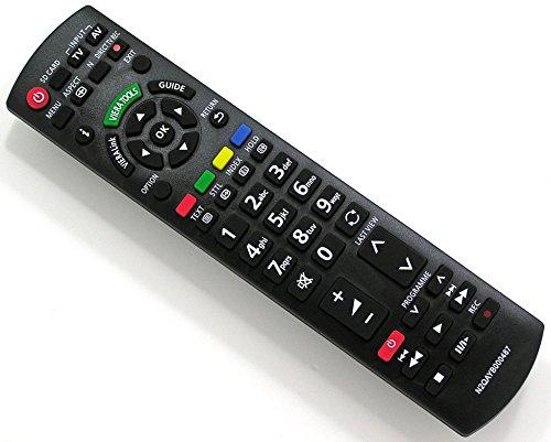 Ersatz Fernbedienung für Panasonic VIERA N2QAYB000487 Fernseher TV Remote Control / Neu