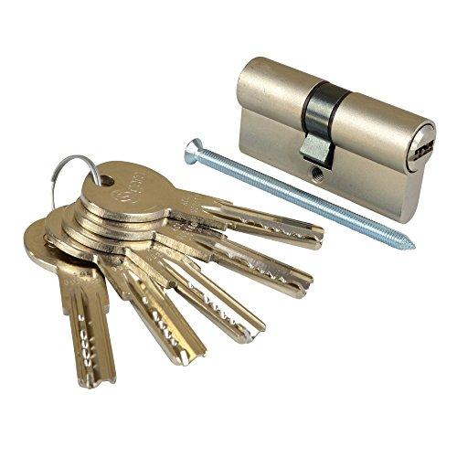 ISEO Deutschland GmbH Schließzylinder GERA mc-5 6500 30-30mm 5 Schlüssel Magnet gesichert