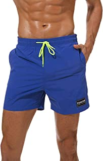 05512f9f60 Imixshopps Mens Swimsuit Beach Shorts, Quick Dry Board Shorts with Mesh  Lining