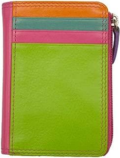 ili New York 7411 Leather Credit Card Holder (Palm Beach)
