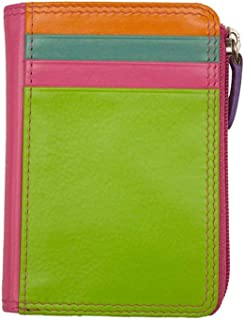 ili New York 7411 Leather Credit Card Holder (Palm Beach)