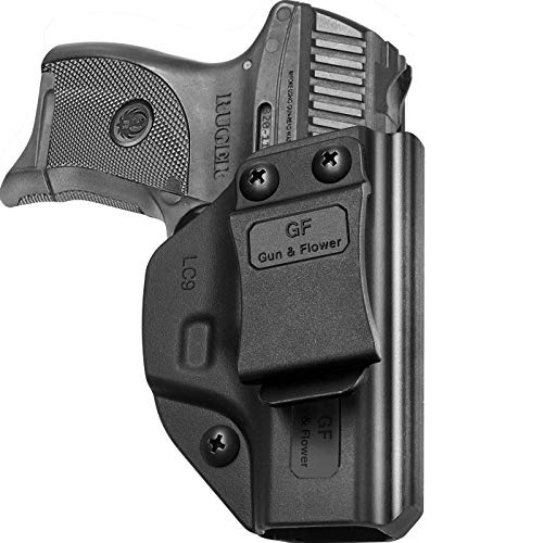 IWB Holster Compatible with LC9 / LC9S / LC380 / EC9S / EC9, Adjustable Cant, Adjustable Retention, Inside Waistband Concealed Carry, Precision Molding Polymer & Handmade Kydex Available