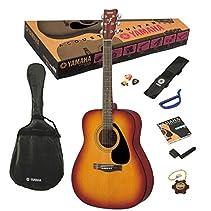 Yamaha F-310P TBS Akustik Westerngitarre Tobacco Brown Sunburst (inkl. Gigbag, Gurt, Stimmpfeife, Saiten, 3 Plecs, Saitenkurbel, Capodasto)