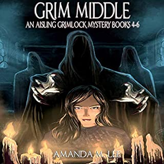 Grim Middle audiobook cover art