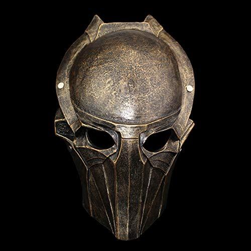 Resin Predator Falconer Costume Adult Mask 1:1 Scale Replica