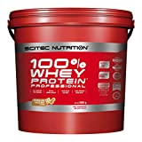 Scitec Nutrition 100% Whey Protein Professional Proteína Chocolate – Mantequilla de cacahuate - 5000 g